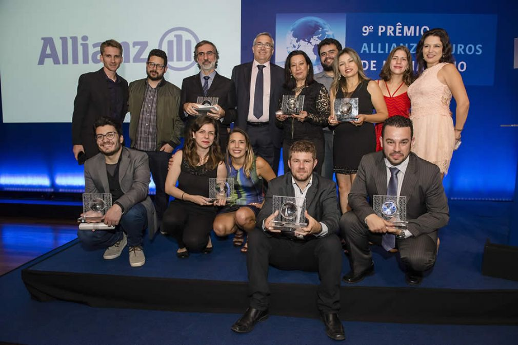 Vencedores do 9° Premio Allianz de Jornalismo