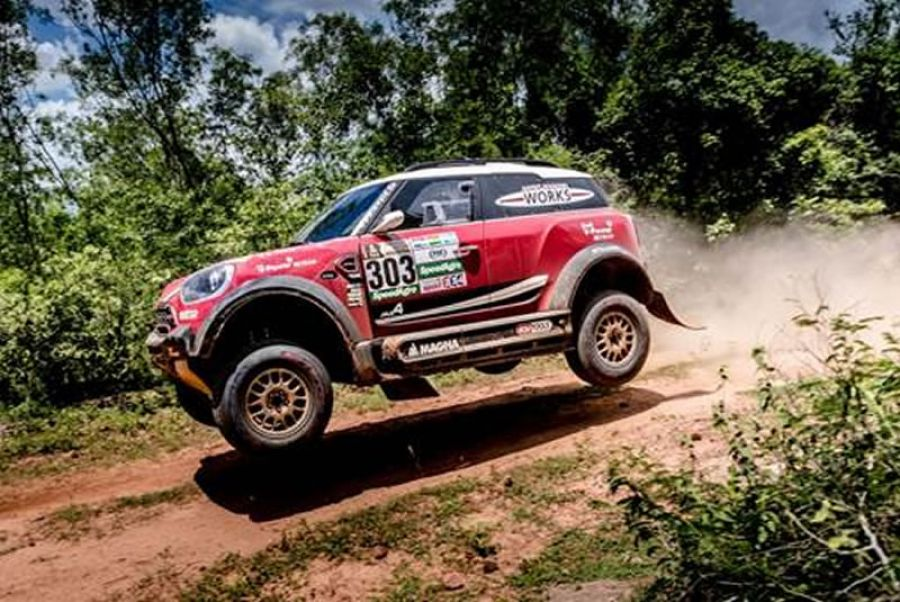 MINI está pronta para o Rally Dakar 2017
