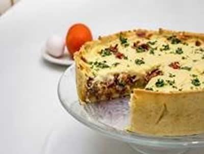 Tortas e Quiches light para manter a forma nas férias