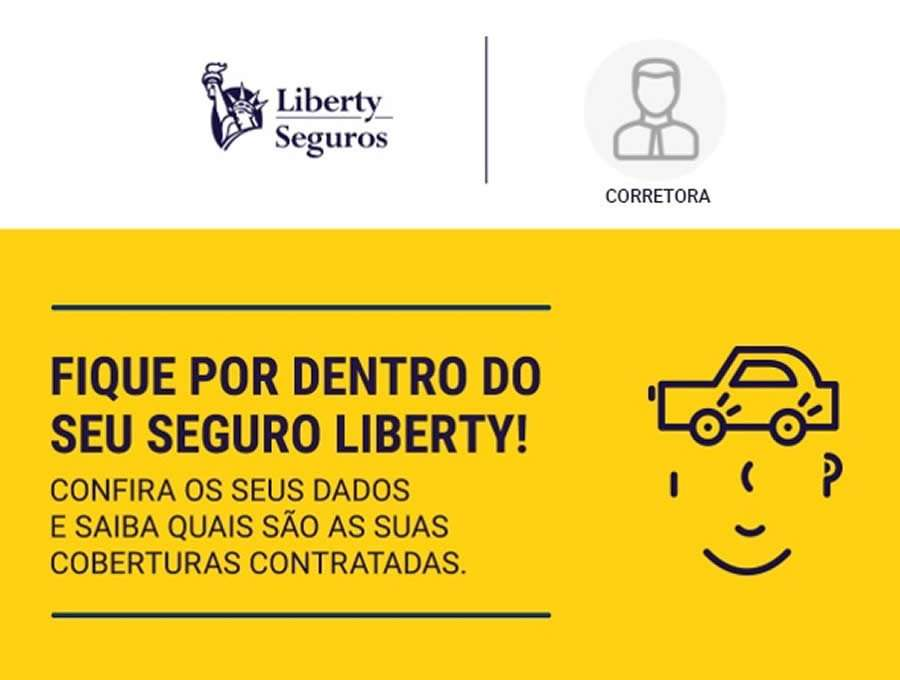Liberty lança Welcome Kit Digital do segurado com vídeo personalizado e logo do Corretor
