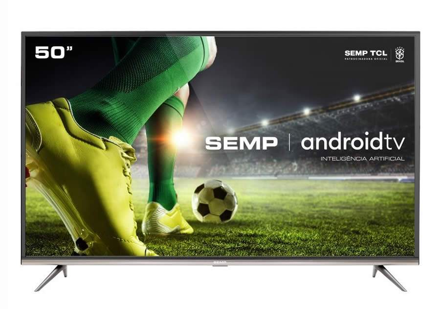 SEMP lança nova Android TV 4K SK8300 com inteligência artificial e Chromecast integrado para a Semana do Brasil