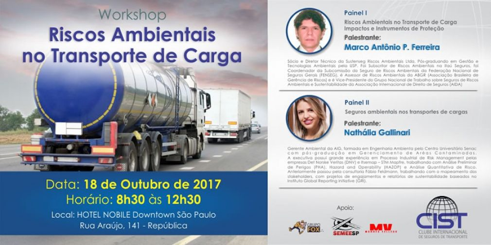 CIST - Workshop: Riscos Ambientais nos Transportes de Carga