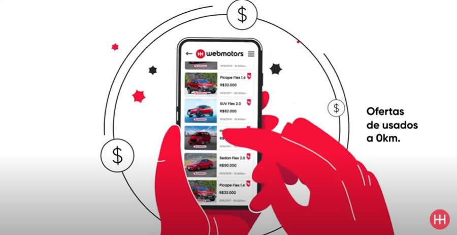 Webmotors lança campanha do Car Delivery