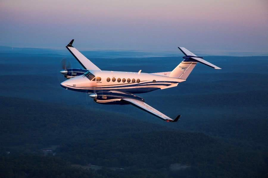 Textron Aviation anuncia certificação da FAA para o King Air 360/360ER