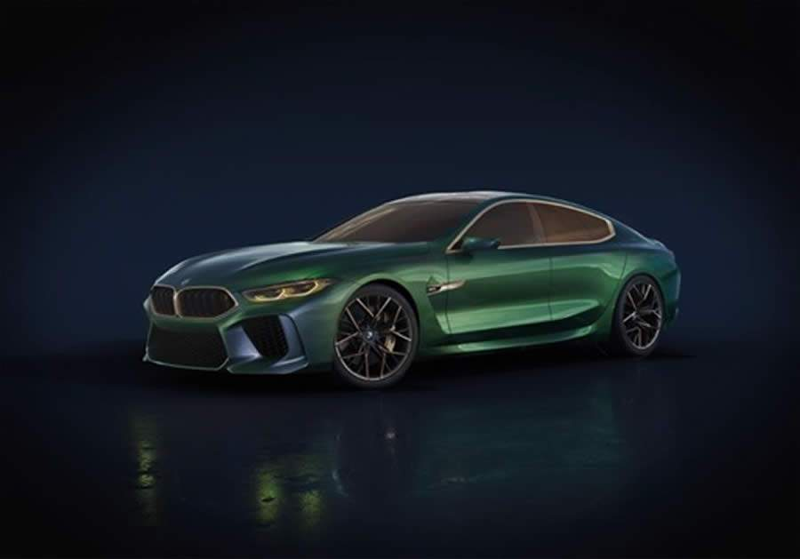 BMW confirma o M8 Gran Coupé Competition First Edition no Brasil
