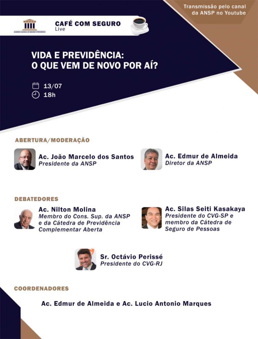 Presidente do CVG-RJ participa do Café com Seguro