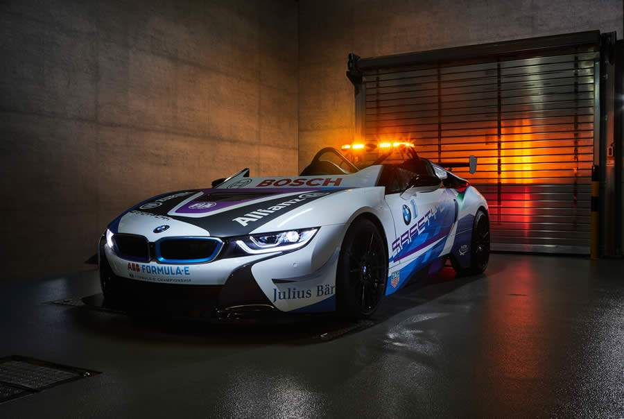 BMW i revela novo Safety Car para a Fórmula E