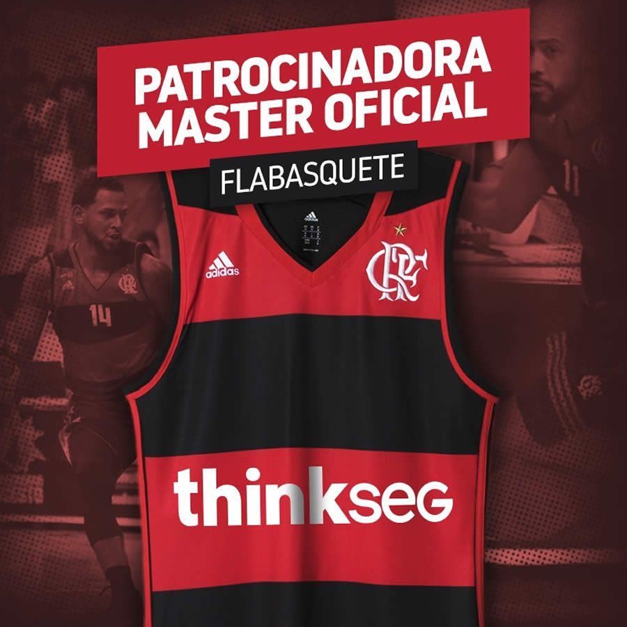 thinkseg é o novo patrocinador máster do basquete do Flamengo