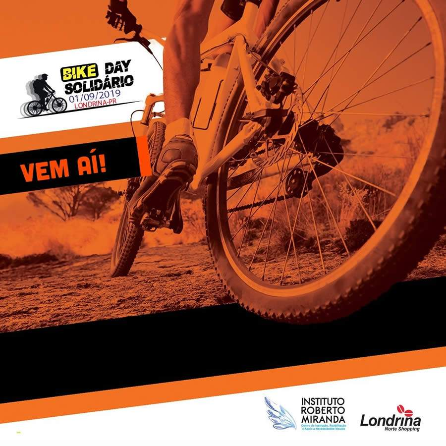 2º Bike Day terá largada do Londrina Norte Shopping